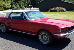 Awesome 1967 ford Mustang Convertible