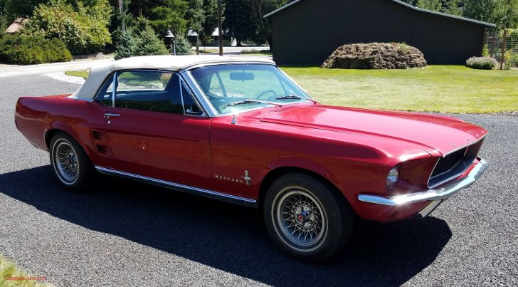 Permalink to Awesome 1967 ford Mustang Convertible