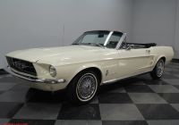 1967 ford Mustang Convertible New 1967 ford Mustang