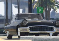 1970 ford Thunderbird 2-door Hardtop Fresh 1957 ford Thunderbird [tuning] Gta5 Mods