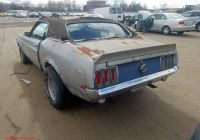 1970 ford Thunderbird 2-door Hardtop Lovely ford Mustang 1970 0t01f — Auto Auction Spot
