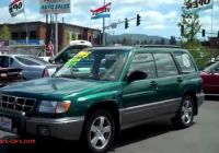 1998 Subaru forester Luxury 1998 Subaru forester sold Youtube