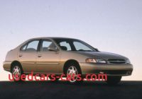 1999 Nissan Altima Unique Used 1999 Nissan Altima Sedan Pricing Features Edmunds