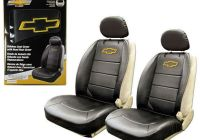 2 Seat Chevy Truck Elegant New Chevy Bowtie Synthetic Leather Sideless Car Truck 2