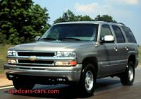 2000 Chevy Tahoe New 2000 Chevrolet Tahoe Information