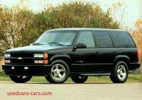 2000 Chevy Tahoe New 2000 Chevrolet Tahoe Reviews Specs and Prices Cars Com
