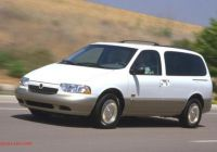 2000 Mercury Villager Best Of 2000 Mercury Villager Information and Photos Zomb Drive