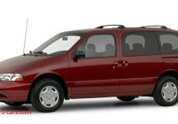 2000 Mercury Villager Luxury 2000 Mercury Villager Reviews Specs and Prices