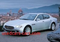 2005 Maserati Quattroporte Unique 2005 Maserati Quattroporte First Drive Review Reviews