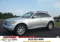 2006 Infinity Fx 35 Awd Best Of 2006 Infiniti Fx35 Suv Awd for Sale In Am Qui Tennessee