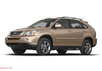 2006 Lexus Rx400h Mpg Awesome 2008 Lexus Rx 400h Owner Reviews and Ratings