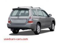 2006 Ll Bean Subaru forester Value Awesome 2006 Subaru forester Reviews and Rating Motor Trend