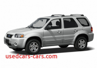 2007 ford Escape Mpg Fresh 2007 ford Escape Specs Price Mpg Reviews Cars Com