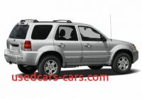 2007 ford Escape Mpg New 2007 ford Escape Specs Safety Rating Mpg Carsdirect