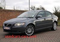 2010 Volvo S40 Luxury 2010 Volvo S40 Se Lux 2 0d Saloon Automatic Grey for Sale