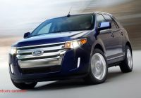 2012 ford Edge Reviews Elegant 2012 ford Edge 2 0 Liter Ecoboost First Drive Review