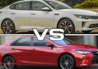 2015 Kia Optima Vs 2016 Kia Optima Unique 2016 Kia Optima Vs 2015 toyota Camry Youtube