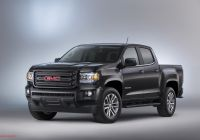2015 Pickups Best Of 2015 Gmc Canyon Nightfall Edition is A Killer Looking