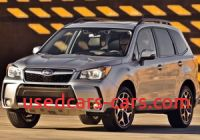 2015 Subaru Outback Cvt issues Beautiful Used 2015 Subaru forester 2 0xt Premium Suv Review