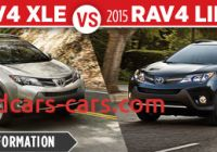 2015 toyota Rav4 Xle Vs Limited Fresh New 2016 toyota Model Comparisons Serving Chicago