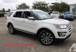 Lovely 2016 ford Explorer Platinum for Sale