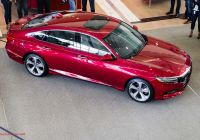 2018 Honda Accord Luxury the 2018 Honda Accord Wants You to forget All About