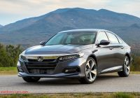 2018 Honda Accord Unique 2018 Honda Accord First Test Motor Trend