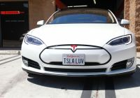 2019 Tesla Model S Elegant Tesla Model S P85 Satin Pearl White Vinyl Wrap by 3m