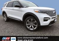 2020 ford Bronco 3rd Row Seat Inspirational New 2020 ford Explorer Platinum 4wd with Navigation & 4wd
