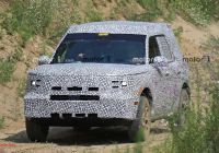2020 ford Bronco 6g Unique ford Baby Bronco Spied for First Time Could Be Called
