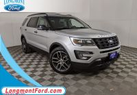 2020 ford Bronco Edmunds Lovely Pre Owned 2016 ford Explorer Sport 4wd