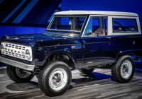 2020 ford Bronco Engine Size Lovely ford Turned Jay Leno S 1968 Bronco Into An Awesome Restomod