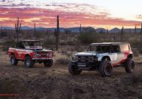2020 ford Bronco forum Luxury ford S Bronco R Race Prototype Debuts to Celebrate 50th