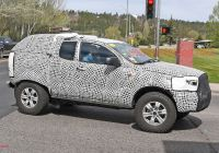 2020 ford Bronco Gallery Best Of 2020 ford Bronco Prototype Spy Shots Gallery