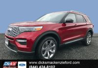 2020 ford Bronco Info Elegant New 2020 ford Explorer Platinum 4wd with Navigation & 4wd
