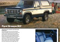"2020 ford Bronco July 2018 Inspirational Built ford tough"" 1986 ford Bronco and Bronc"