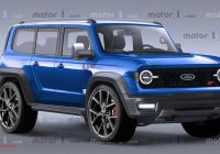 2020 ford Bronco New York Auto Show Inspirational ford Bronco St Rendering Imagines some Unlikely Awesomeness