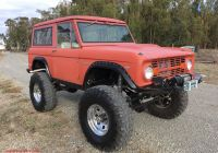 2020 ford Bronco Off Road New Professionally Built 1968 ford Bronco Offroad