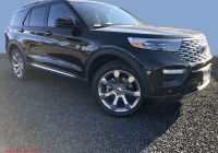 2020 ford Bronco Official Pics Luxury New 2020 ford Explorer Platinum 4wd with Navigation & 4wd