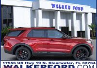2020 ford Bronco Red Unique 2020 ford Explorer St