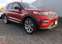 2020 ford Bronco Red Unique New 2020 ford Explorer Platinum 4wd with Navigation & 4wd