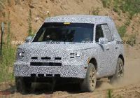 2020 ford Bronco Reddit Inspirational ford Baby Bronco Spied for First Time Could Be Called