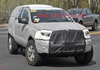 2020 ford Bronco Two Door Lovely 2020 ford Bronco Prototype Spy Shots Gallery
