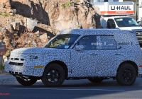 2020 ford Bronco Unibody Beautiful ford Baby Bronco Bare Body Allegedly Leaked In Exclusive
