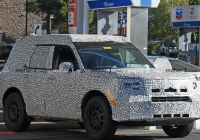 2020 ford Bronco Unibody Inspirational ford Baby Bronco Bare Body Allegedly Leaked In Exclusive