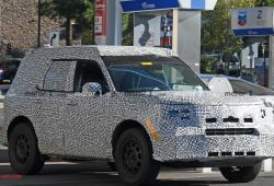 Luxury 2020 ford Bronco Unibody