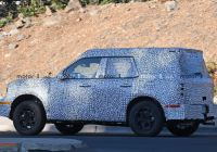 2020 ford Bronco Unibody Lovely ford Baby Bronco Bare Body Allegedly Leaked In Exclusive