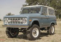 2020 ford Bronco V8 Lovely Icon Goes even More Retro with New Old School Broncos