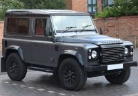 2020 ford Bronco Vs 2020 Land Rover Defender Inspirational Land Rover Defender Wikiwand