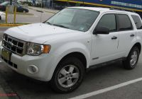 2020 ford Escape 0-60 Best Of 2008 ford Escape Xls 4dr Suv 2 3l Manual